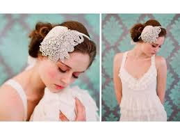 vintage headbands inspired beaded bridal headband