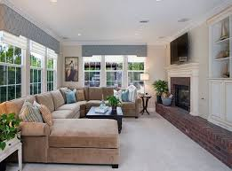 pictures of family rooms with sectionals 20 living room layouts with sectionals home design lover