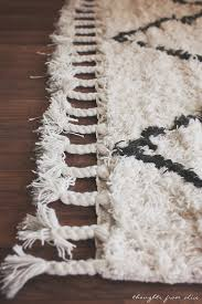 Fringe Rug Boho Chic Living Room Makeover Finding The Perfect Rug