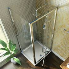 Infold Shower Door by Merlyn Showering