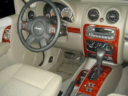 2005 2007 jeep liberty wood grain dash trim kit