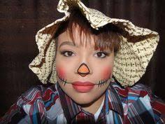 Womens Scarecrow Halloween Costume Halloween Cute Scarecrow Makeup Holidays Sense