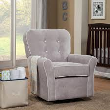 furniture white glider rocking chair swivel rocking chair for