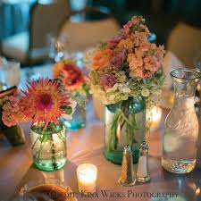 Wedding Centerpieces Using Mason Jars by Wedding Reception Centerpieces Using Mason Jars Wedding