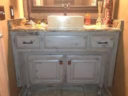 bathroom vanity paint colors painted glazed distressed started