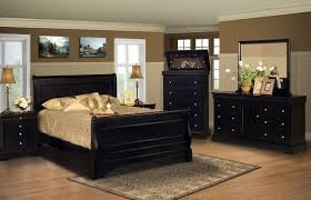 Two Tone Wood Floor Gorgeous Black Bedroom Furniture With Wooden Materials And Two