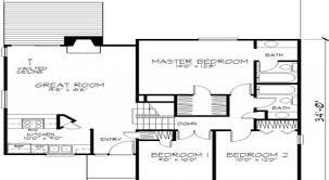 3 story floor plans 7 modern 2 story house floor plan 2 story house plans