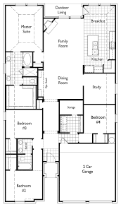 Floor Plan For New Homes Plan 550 By Highland Homes Long Meadow Farms