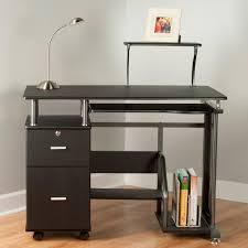 desks modern glass computer desk black desk target small