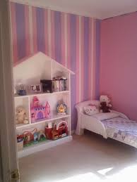 furniture diy dollhouse bookcase with white shelves for home