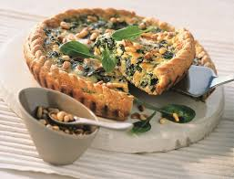 cuisiner des epinards frais recette tarte aux épinards et au marcellin
