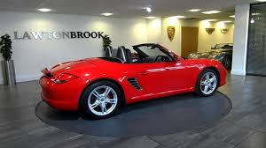 porsche boxster red porsche boxster s red u0026 black lawton brook youtube