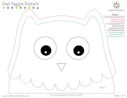 cut out owl template free owl template these are adorable cenas
