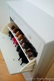 ikea shoe cabinet sarah m dorsey designs ikea hemnes shoe cabinet renovation