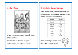 word problem cards fractions and percentages by teachersarchive