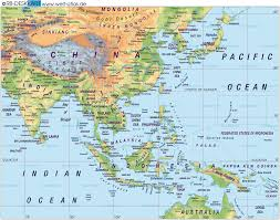 Asia Maps by Far East Asia Map Far East Asia U2022 Mappery