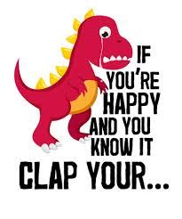 t rex happy and you it happy you it clap your sad t rex by nineteen66