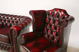 Leather Tufted Chairs Furniture Enchanting Chesterfield Couch For Living Room Furniture