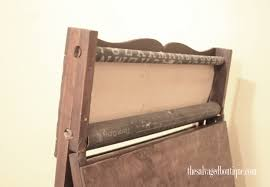 refurbished antique chalkboard easel the salvaged boutique