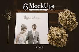 Album Wedding Wedding Album Mockup Photos Graphics Fonts Themes Templates
