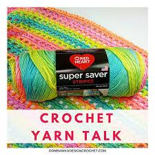 Red Heart Comfort Yarn Patterns Crochet Yarn Talk Red Heart Super Saver Stripes Yarn U2022 Oombawka
