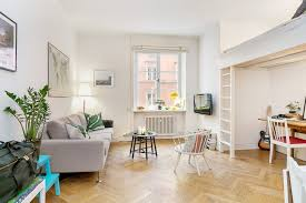 Hardwood Floor Apartment Minimalistic 355 Square Foot Studio Apartment In Stockholm Is