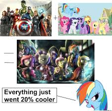 20 Cooler Meme - everything just went 20 cooler by bronyboy meme center