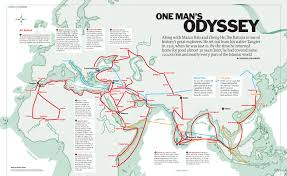 Time Map One Man U0027s Odyssey Time