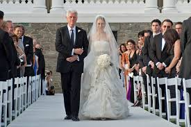 chelsea clinton wedding dress chelsea clinton used foundation to help pay for wedding email