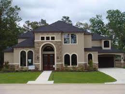 exterior paint colors for stucco homes dubious blue combinations