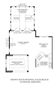 sunroom addition floor plans