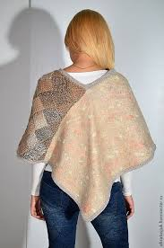 Handmade Poncho - poncho entrelac shop on livemaster with shipping