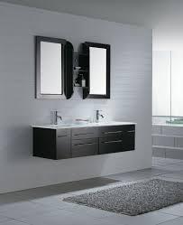 bathrooms design modern double bathroom vanities with floating