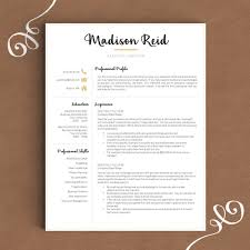 resume writing consultant freelance consultant designer and writer for hire resume design creative resume template the madison