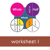 ordering fractions with the same numerator worksheets