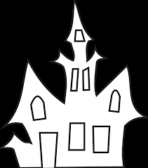 halloween clipart free black and white halloween house clipart black and white clipartsgram com