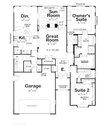 large 2 bedroom house plans modern photo of two bedroom house plans large garage modern kitchen