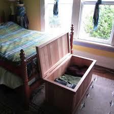 Bedroom Bench With Storage Single Storage Bench Cedar Chest