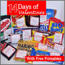 14 days of valentines free printables sparkles of sunshine
