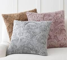 silk jacquard pillow cover pottery barn