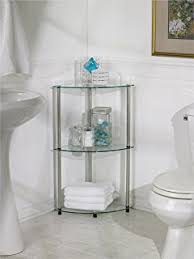 Bathroom Wire Shelving Amazon Com Langria 3 Tire Bathroom Corner Shelf Bathroom Shelving