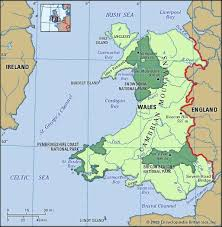 where is wales on the map wales history geography facts points of interest