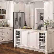 Kitchen Cabinets Peoria Il Hton Kitchen Cabinets Shop Bay Satin White Cabinets Hton