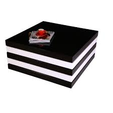 peek a boo coffee table high gloss black u0026 white coffee table
