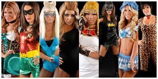 Wwe Costumes Halloween Pictures Wwe Divas Halloween Vote Looked