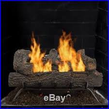 Propane Fireplace Logs by Gas Fireplace Logs Blog Archive 24 In Vent Free Natural Gas
