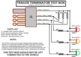 trailering package signal and brake connections