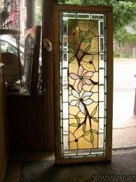 Antique Stained Glass Door by Victorian Stained Glass Panels Foter