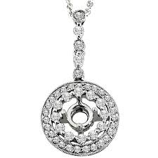 necklace pendant setting images Create your own diamond pendants and personalize your pendants jpg