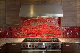 red kitchen tile backsplash elegant red kitchen tiles biyakushop